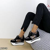 Кроссовки сникерсы на платформе, фото 2
