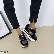 Кроссовки сникерсы на платформе, фото 3
