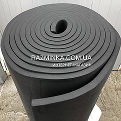 Каучук листовой 25мм, рулон 8м² (звукоизоляция)