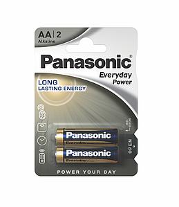 Батарейка Panasonic Everyday Power AA 1*2 шт.