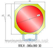 Площадка ППСЛ-380-3D поворотная, сдвижная, для легкового автотранспорта