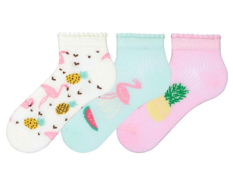 Носки детские укороченные с рисунком хлопковые Bross