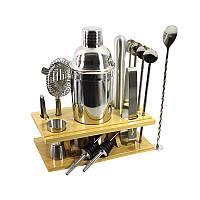 Подарочный набор для бара Youchen MC-X14 из 14 предметов с подставкой (5620-18977)