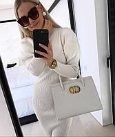 Кожаная сумка Dior Montaigne (реплика)