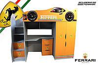 Кровать-комната Ferrari