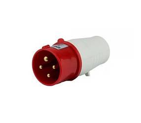 Вилка силова переносна ENERGIO 014 (3P+PE) 16A 380V IP44