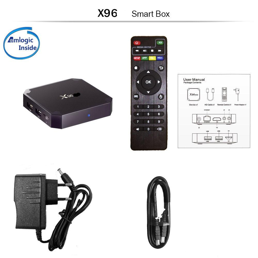 Приставка смарт тв бокс smart tv box x96 mini 2Гб/16Гб андроид 9.0