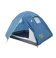 Палатка 2х местная для туризма двухслойная 1001G