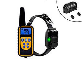 Електронний нашийник для дресирування собак з пультом ДУ Ipets PET DC-800