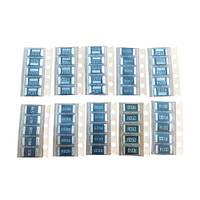 50x Резистор SMD 2512 1Вт 1% 0.001-0.1Ом, набор