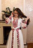 Вишукана вишита сукня зі зйомним шлейфом, фото 4