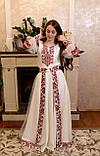 Вишукана вишита сукня зі зйомним шлейфом, фото 5