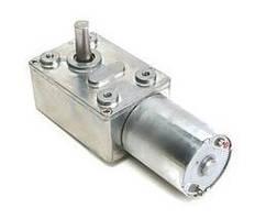 Мотор редуктор червячный JGY-370 12В 2об/мин