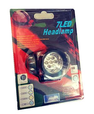 Налобный светодиодный фонарь Headlight 7Led, фото 2