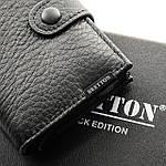 Кошелек визитница-картхолдер мужской кожаный BRETTON черный (05-120), фото 3