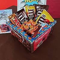 Подарок девушке - букет из конфет, сладкий набор, подарок подруге, ребенку, сестре