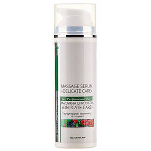 Масажна сироватка «Delicate Care» з концентратом лісових ягід полуниці, 150 мл