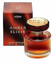 Парфюмерная вода amber elixir амбе эликсир 11367 орифлейм оріфлейм