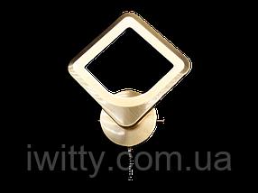 Світлодіодний світильник MX2281/1BR (Бронзове золото) 18W, фото 2
