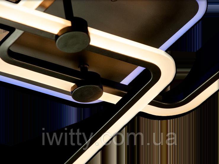 Люстра MX2503/2CF LED 3color dimmer (Коричневый) 55W