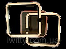 Люстра MX2503/2CF LED 3color dimmer (Коричневый) 55W, фото 2