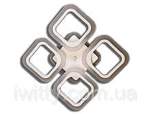 Люстра S8060/4CF LED 3color dimmer (Коричневый) 55W, фото 2