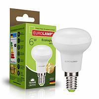 Світлодіодна рефлекторна EUROLAMP LED Лампа ЕКО R50 6W E14 3000K