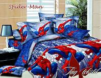 Детское полуторное постельное белье Spider Man