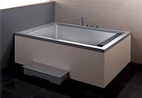 Гидромассажная ванна EAGO AM146-1JDTSZ (R) серая, 1910х1380х670 мм