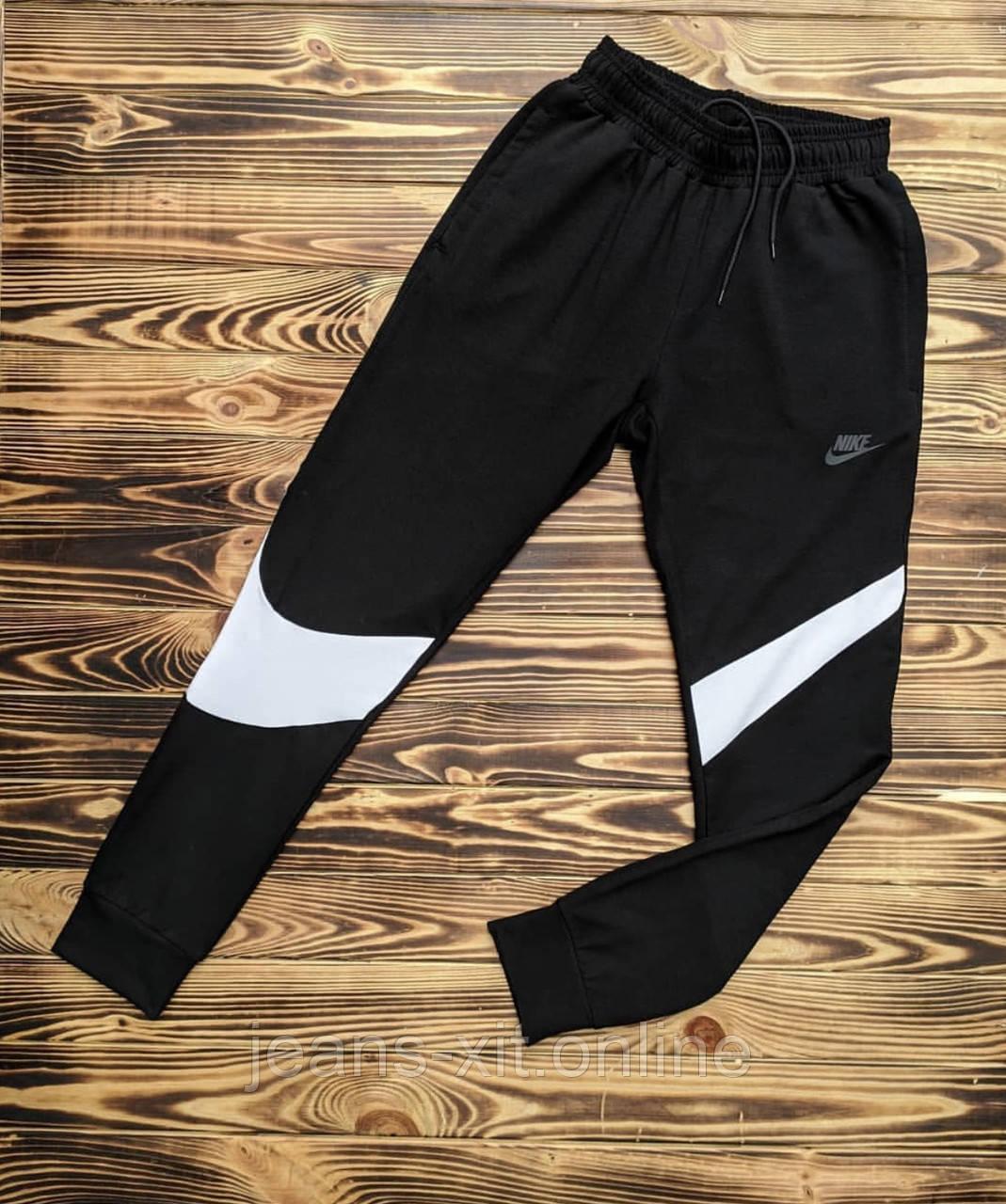 Брюки мужские L(р) черные 103-1-20 Nike Турция Весна-C