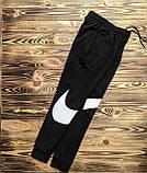 Брюки мужские L(р) черные 103-1-20 Nike Турция Весна-C, фото 2