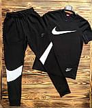 Брюки мужские L(р) черные 103-1-20 Nike Турция Весна-C, фото 3