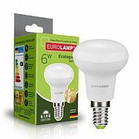 Світлодіодна рефлекторна EUROLAMP LED Лампа ЕКО R50 6W E14 4000K
