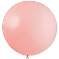 Повітряна куля 31' пастель Gemar 57 Рожевий матовий, без смужок (80 см)