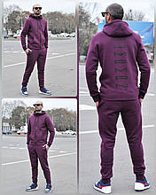 Костюм чоловічий 2XL(р) темно-фіолетовий 007-20 Jordan Туреччина Зима-C