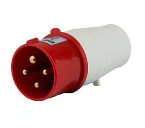 Вилка силовая переносная ENERGIO 034 (3P+PE) 63A 380V IP44