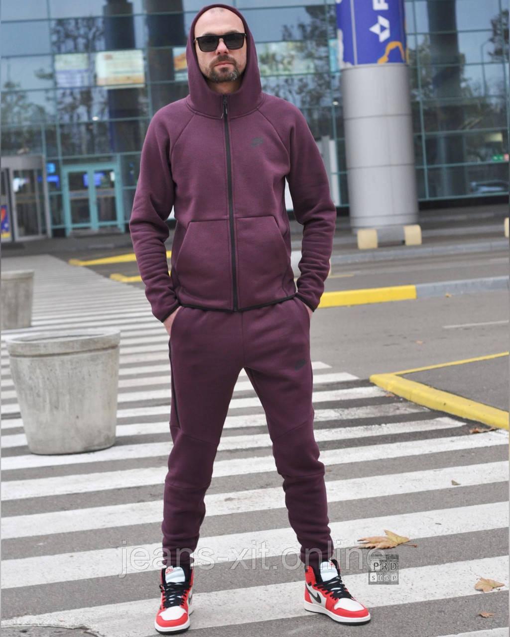 Костюм Чол. 3XL(р) т.фіолетовий 011-2020 Nike Туреччина Зима-C