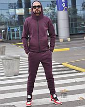 Костюм чоловічий 3XL(р) темно-фіолетовий 011-2020 Nike Туреччина Зима-C