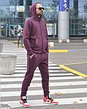 Костюм Чол. 3XL(р) т.фіолетовий 011-2020 Nike Туреччина Зима-C, фото 2