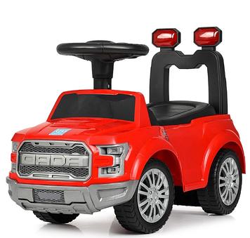 Машина каталка-толокар муз.,сигнал,63см,червона №FD-6821-3(1)