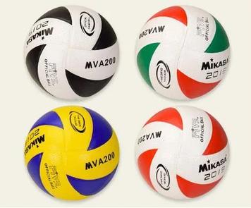 М'яч волейбол., PVC 4 кольор.№VB190204(50) КІ