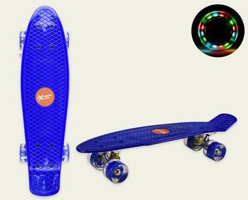 Скейт пеніборд колеса ПУ,світ.,56х15см №SC20421(8) КІ