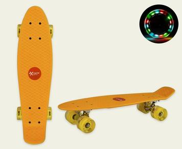 Скейт пеніборд колеса ПУ,світ.,56х15см №SC20424(8) КІ