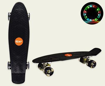 Скейт пеніборд колеса ПУ,світ.,56х15см №SC20426(8) КІ