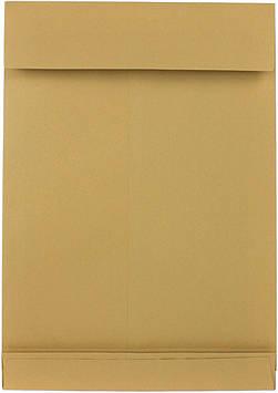 Конверт пошт. B4 (0+0) скл крафт з розшир. 250х353мм №391157/41733099(250)
