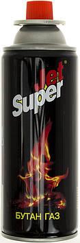 """Газ для плит і горілок """"Super Jet"""" 220г №19967/6689(1)(12)(24)"""