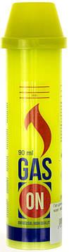 Газ для запальничок 90мл жовт. №0023(10)(100)