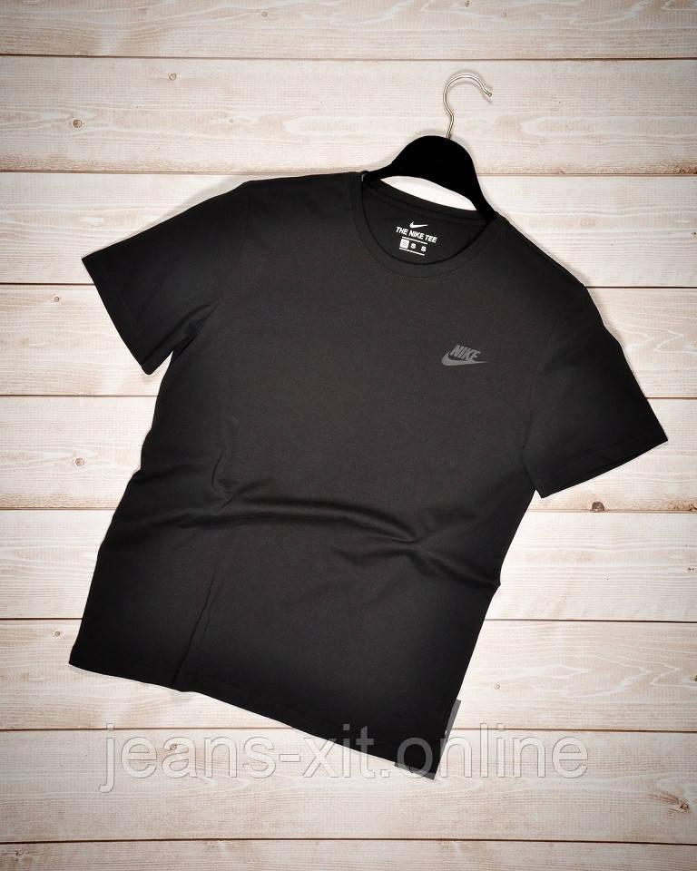 Футболка Чол. 2XL(р) чорний 1015-21 Nike Туреччина Літо-D
