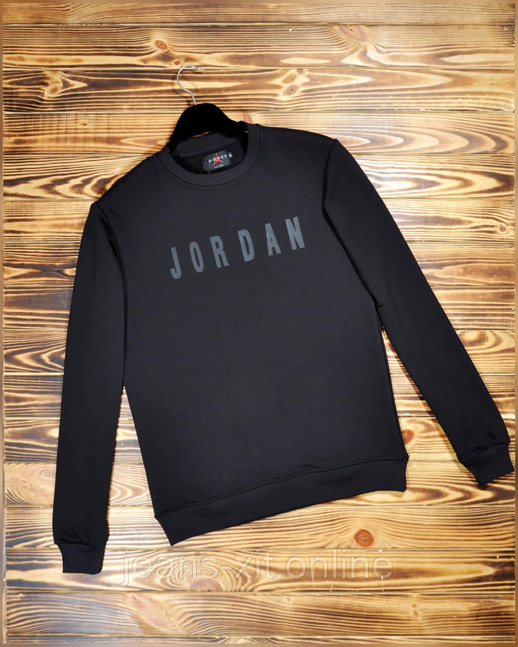 Батник чоловічий 2XL(р) чорний 1840-21 Jordan Туреччина Весна-D