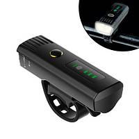 Ліхтар велосипедний індукційний 250лм фара 5Вт 1500мАч IPx4, EOS220